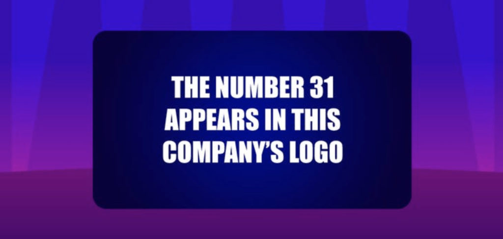 The number 31 appears in this company's logo