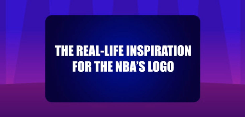 The real-life inspiration for the NBA's logo